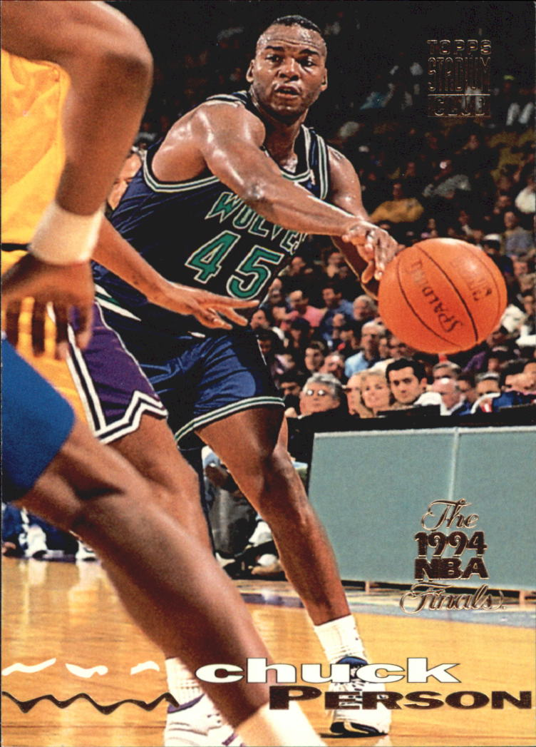 1993-94 Stadium Club Super Teams NBA Finals #40 Chuck Person