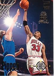 1993-94 Stadium Club Super Teams NBA Finals #61 Scottie Pippen HC