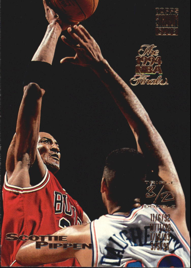 1993-94 Stadium Club Super Teams NBA Finals #103 Scottie Pippen TD
