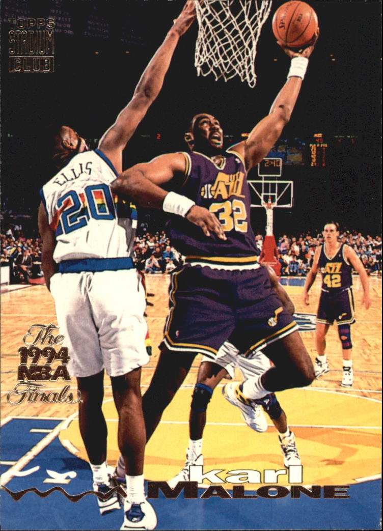 1993-94 Stadium Club Super Teams NBA Finals #125 Karl Malone front image