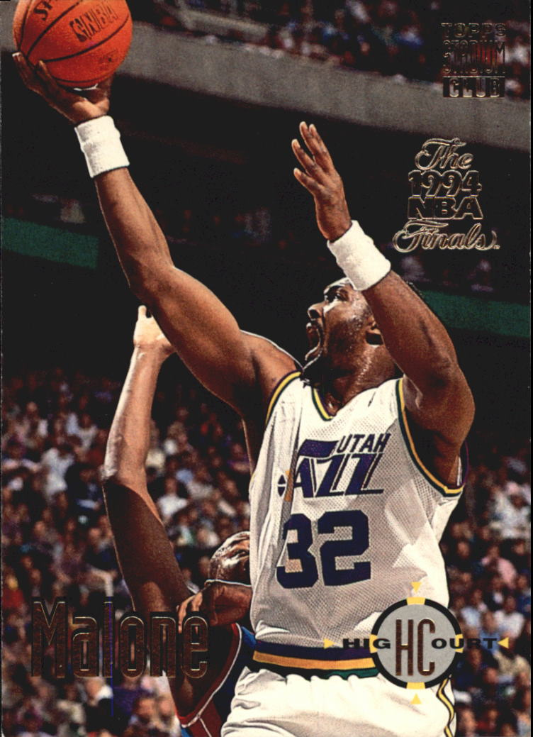 1993-94 Stadium Club Super Teams NBA Finals #174 Karl Malone HC