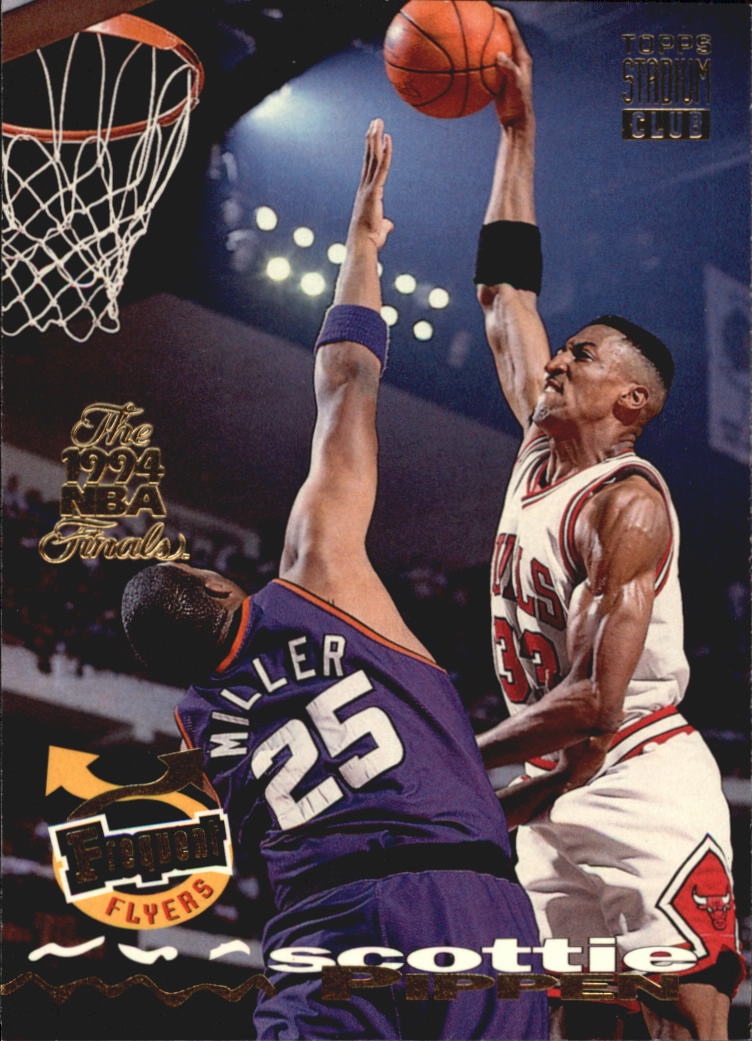 1993-94 Stadium Club Super Teams NBA Finals #184 Scottie Pippen FF