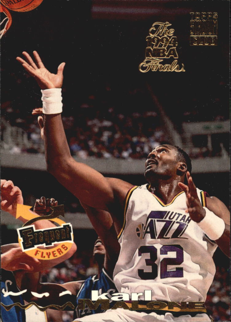 1993-94 Stadium Club Super Teams NBA Finals #186 Karl Malone FF