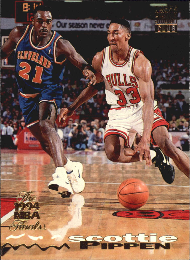 1993-94 Stadium Club Super Teams NBA Finals #300 Scottie Pippen