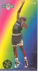 1993-94 Jam Session Second Year Stars #7 Shaquille O'Neal