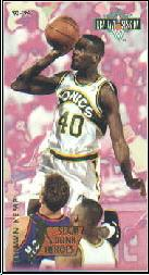 1993-94 Jam Session Slam Dunk Heroes #3 Shawn Kemp