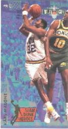 1993-94 Jam Session Slam Dunk Heroes #4 Karl Malone