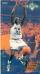 1993-94 Jam Session Slam Dunk Heroes #7 Shaquille O'Neal