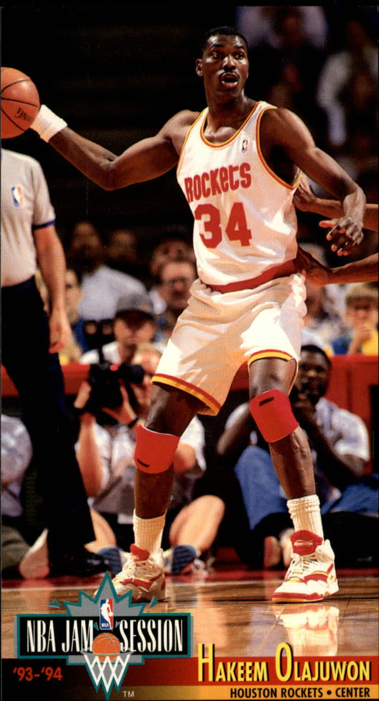 1993-94 Jam Session #83 Hakeem Olajuwon