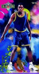 1993-94 Jam Session Rookie Standouts #8 Chris Webber