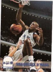 1993-94 Hoops Prototypes #6 Shaquille O'Neal