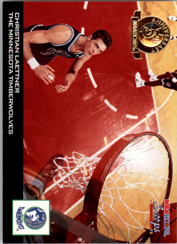 1993-94 Hoops Scoops Fifth Anniversary Gold #HS16 Christian Laettner