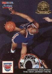 1993-94 Hoops Scoops Fifth Anniversary Gold #HS17 Derrick Coleman