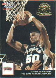 1993-94 Hoops Scoops Fifth Anniversary Gold #HS24 David Robinson