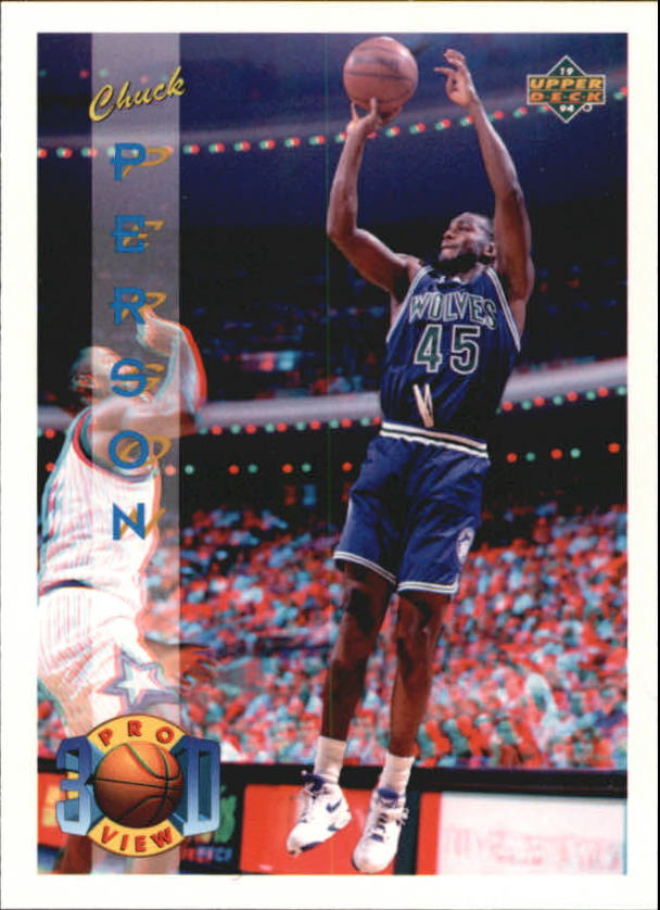 1993-94 Upper Deck Pro View #2 Chuck Person