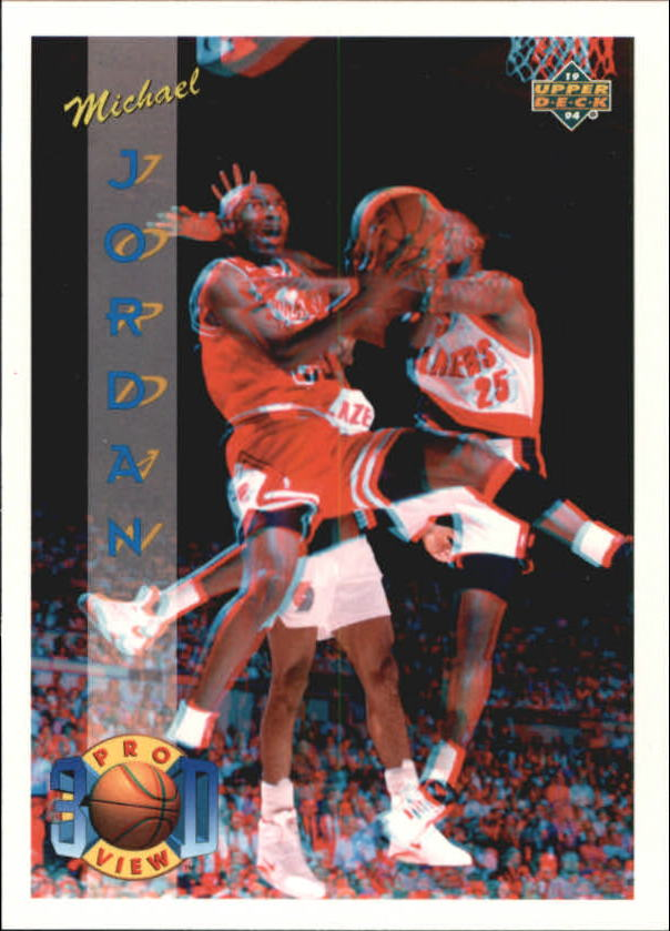 1993-94 Upper Deck Pro View #23 Michael Jordan