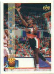 1993-94 Upper Deck Pro View #68 Clyde Drexler