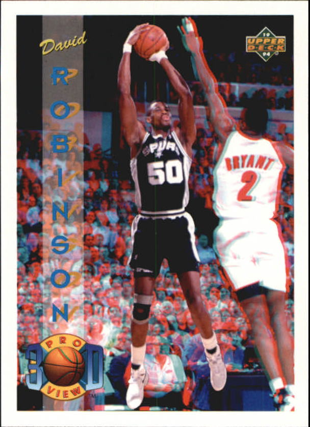 1993-94 Upper Deck Pro View #70 David Robinson