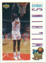 1993-94 Upper Deck Pro View #89 Dominique Wilkins 3DJ