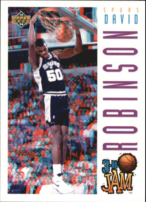 1993-94 Upper Deck Pro View #97 David Robinson 3DJ