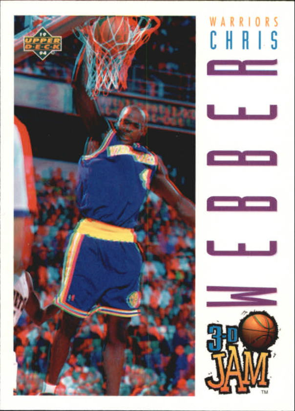 1993-94 Upper Deck Pro View #106 Chris Webber 3DJ