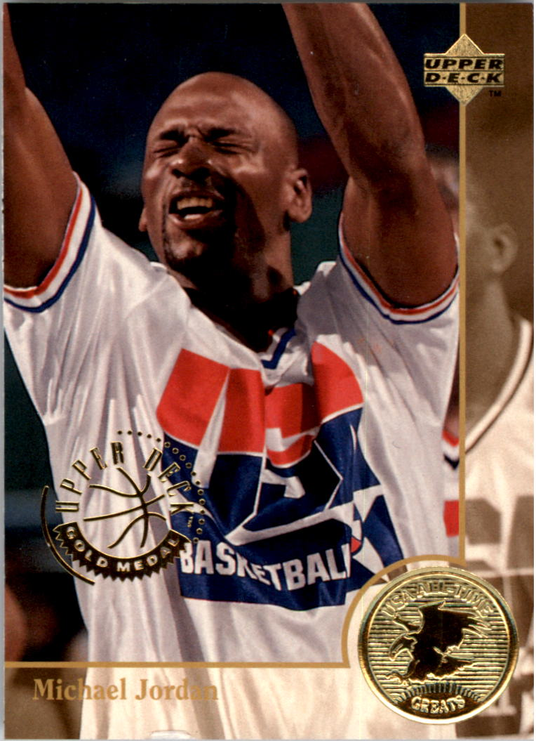 1994 Upper Deck USA Gold Medal #85 Michael Jordan/USAB Greats