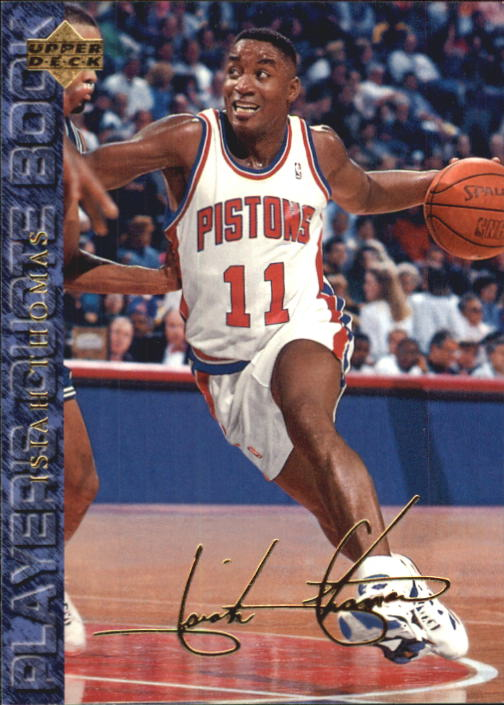 1994 Upper Deck USA #67 Isiah Thomas/Player Quotebook