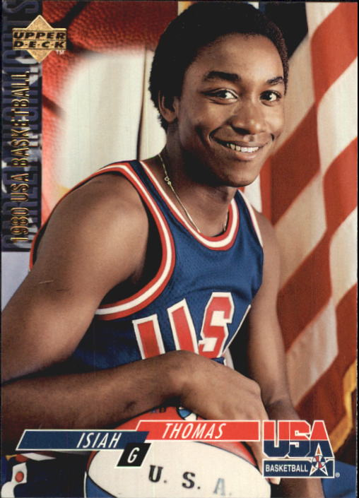 1994 Upper Deck USA #68 Isiah Thomas/1980 USAB