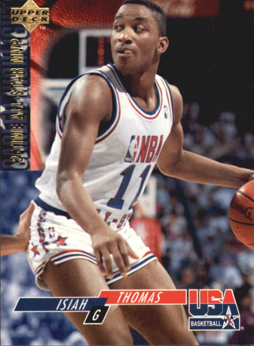 1994 Upper Deck USA #70 Isiah Thomas/2-Time All-Star MVP