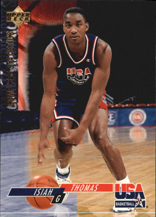 1994 Upper Deck USA #72 Isiah Thomas/Career Statistics