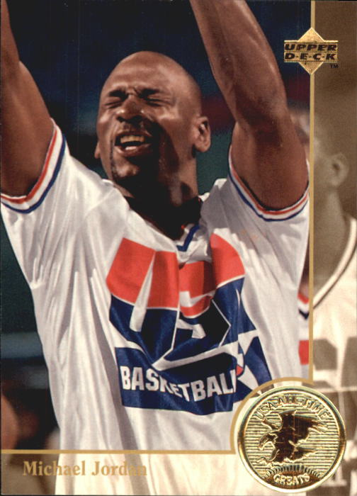 1994 Upper Deck USA #85 Michael Jordan/USAB Greats