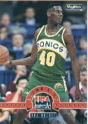 1994 SkyBox USA #14 Shawn Kemp/NBA Rookie