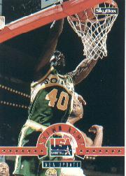 1994 SkyBox USA #16 Shawn Kemp/NBA Update