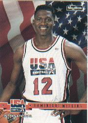 1994 SkyBox USA #31 Dominique Wilkins/International