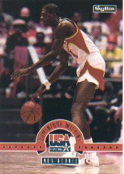 1994 SkyBox USA #32 Dominique Wilkins/NBA Rookie