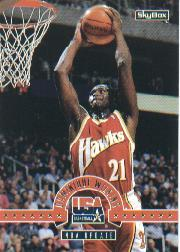 1994 SkyBox USA #34 Dominique Wilkins/NBA Update