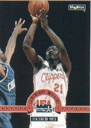 1994 SkyBox USA #35 Dominique Wilkins/Trademark Move
