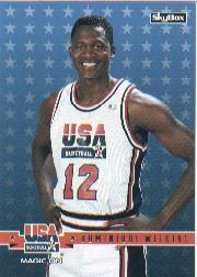 1994 SkyBox USA #36 Dominique Wilkins/Magic On