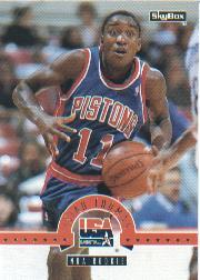 1994 SkyBox USA #44 Isiah Thomas/NBA Rookie