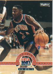 1994 SkyBox USA #46 Isiah Thomas/NBA Update