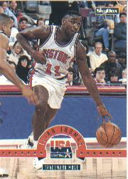 1994 SkyBox USA #47 Isiah Thomas/Trademark Move