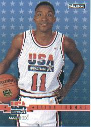 1994 SkyBox USA #48 Isiah Thomas/Magic On
