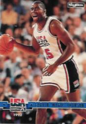 1994 SkyBox USA #87 Magic Johnson/Passing the Torch