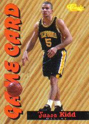 1994 Classic Game Cards #GC2 Jason Kidd