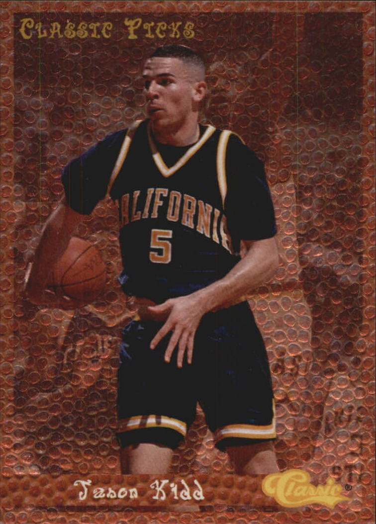 1994 Classic Picks #7 Jason Kidd