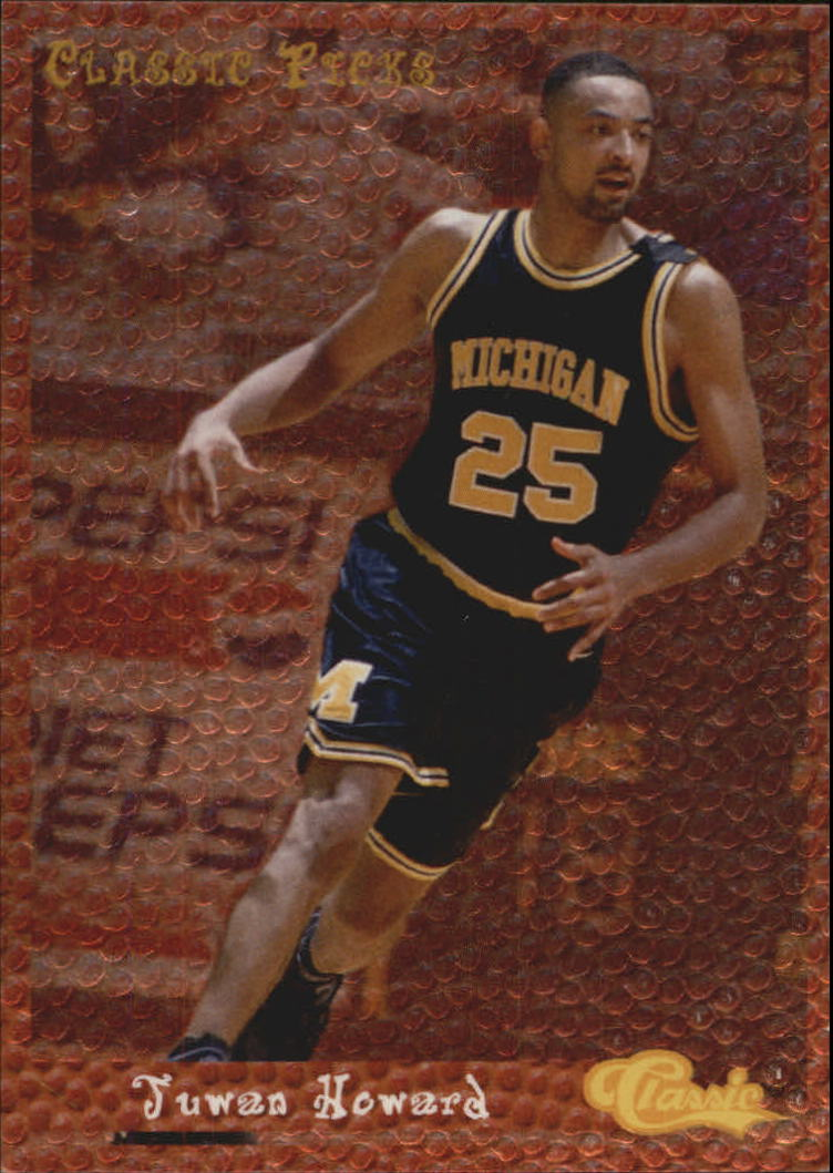 1994 Classic Picks #10 Juwan Howard