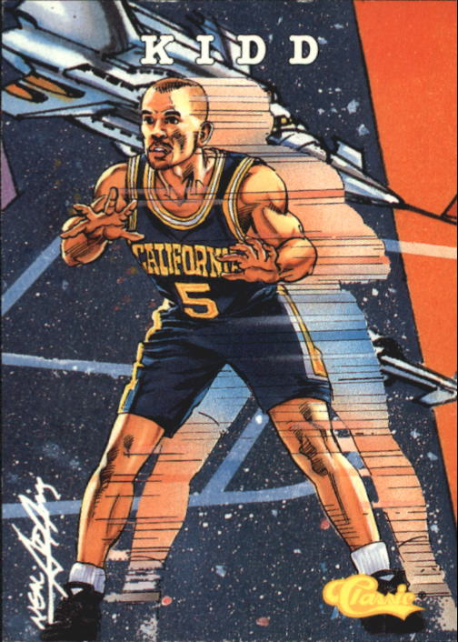 1994 Classic #102 Jason Kidd COMIC SP