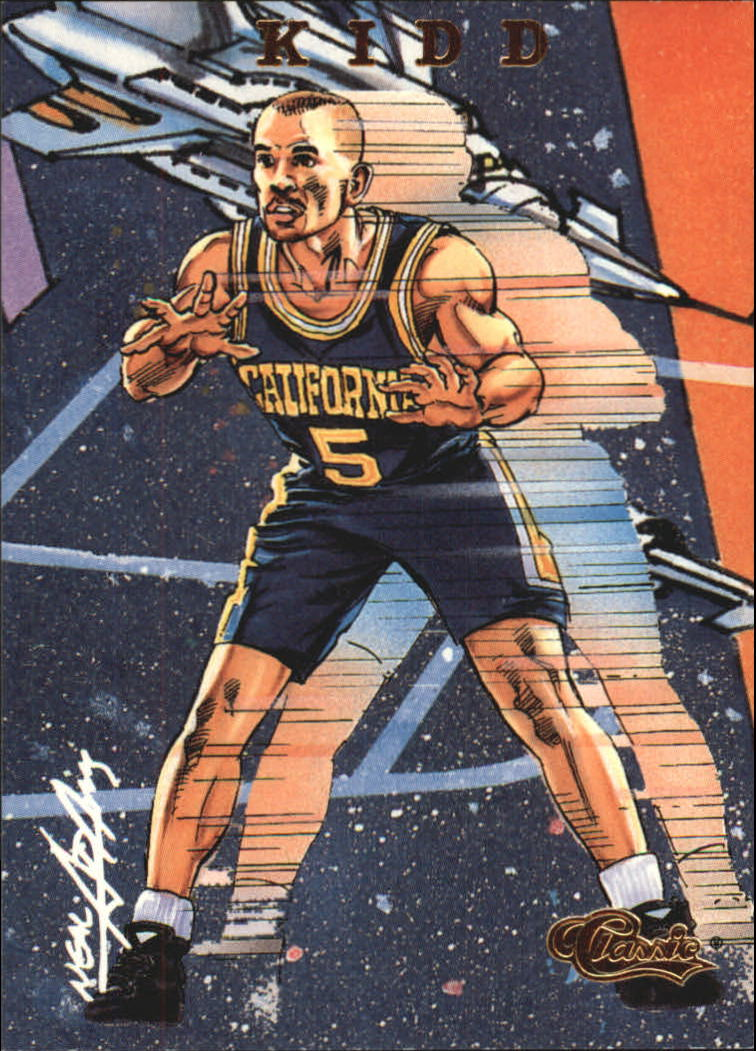 1994 Classic Gold #102 Jason Kidd COMIC