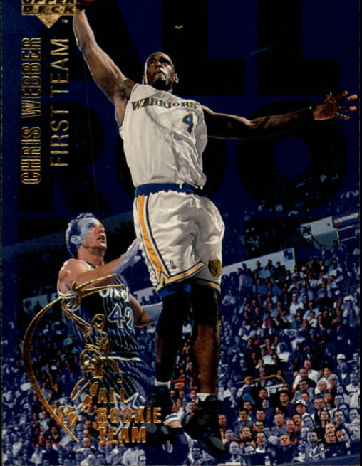 1994-95 Upper Deck #1 Chris Webber ART