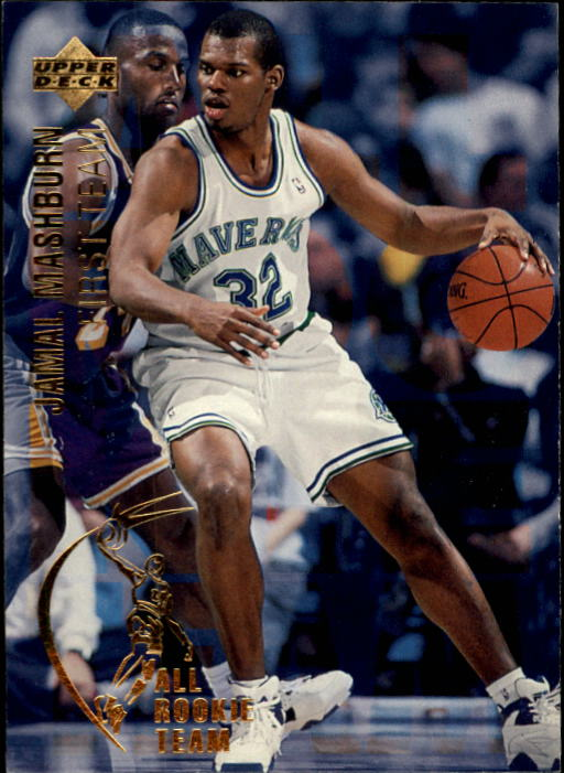 1994-95 Upper Deck #4 Jamal Mashburn ART